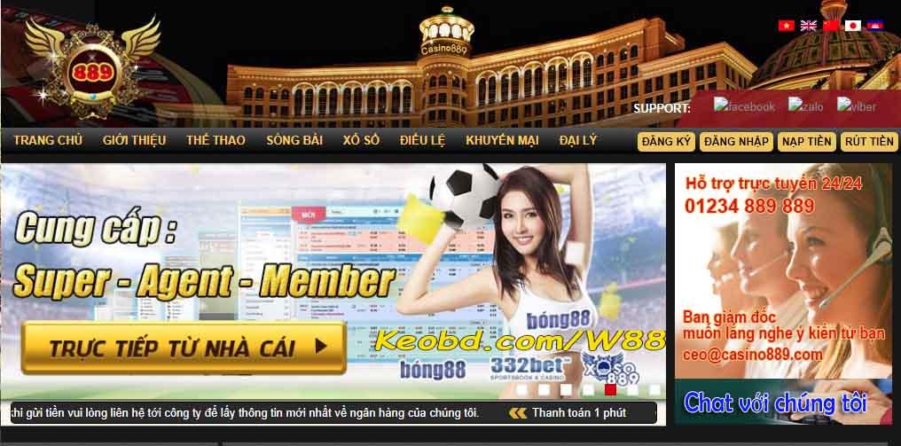 Trang chủ Casino889 và iBet889 - 1GOm88.com