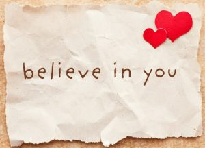 tình yêu chính là sự tin tưởng đối phương