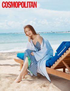 mỹ nhân Yoo In Na khoe vóc dáng gợi cảm trên tạp trí