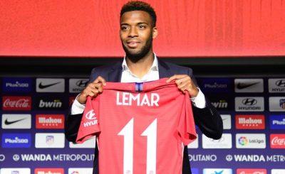Thomas Lemar rạng rỡ về Atletico cùng A-Thethao