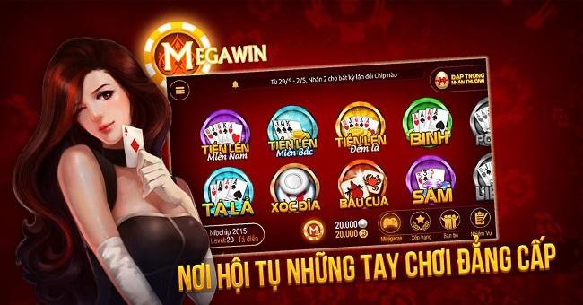 game bai Megawin